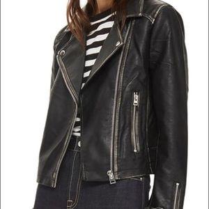 Top Shop Leather Moto Jacket